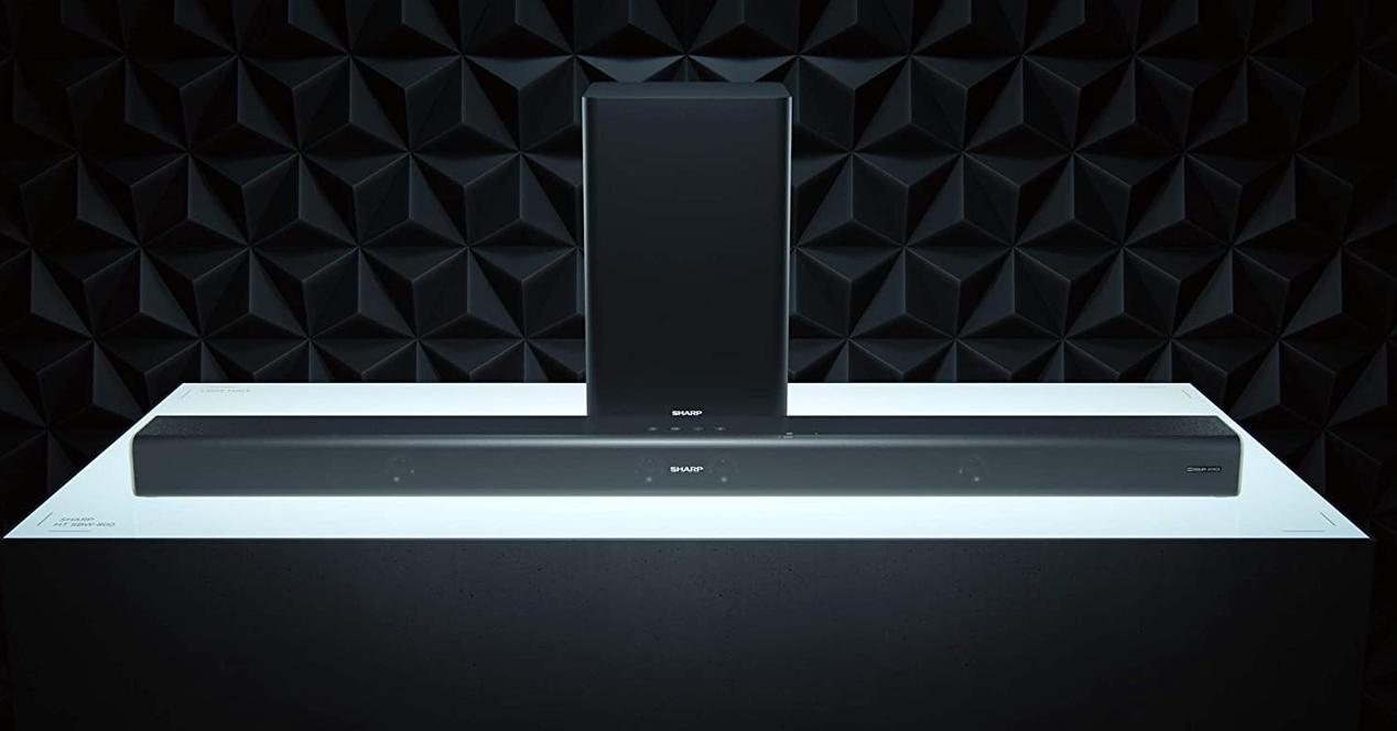 Barra de sonido Sharp HT-sbw800