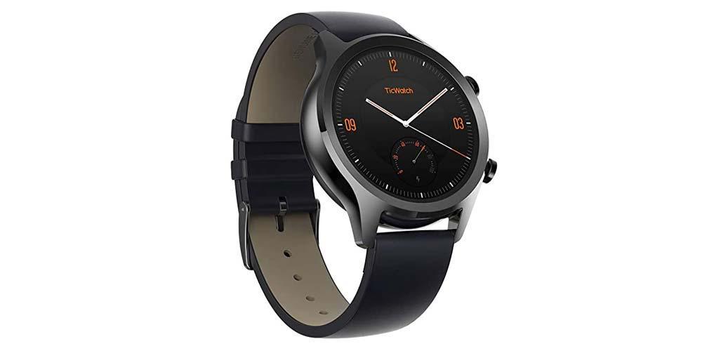Smartwatch Ticwatch C2 de color negro