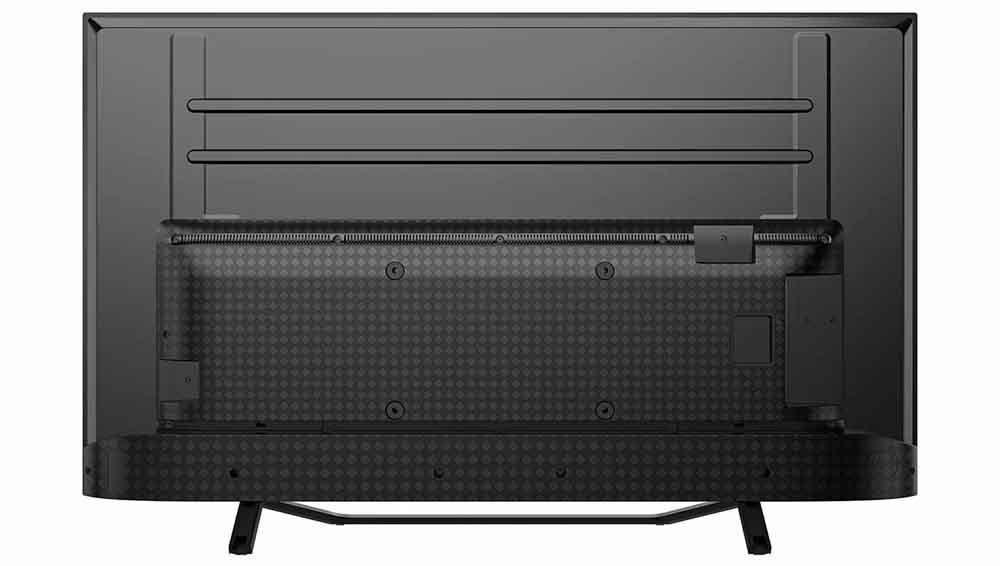 Trasera de la Smart TV 4K Hisense 50A7500F