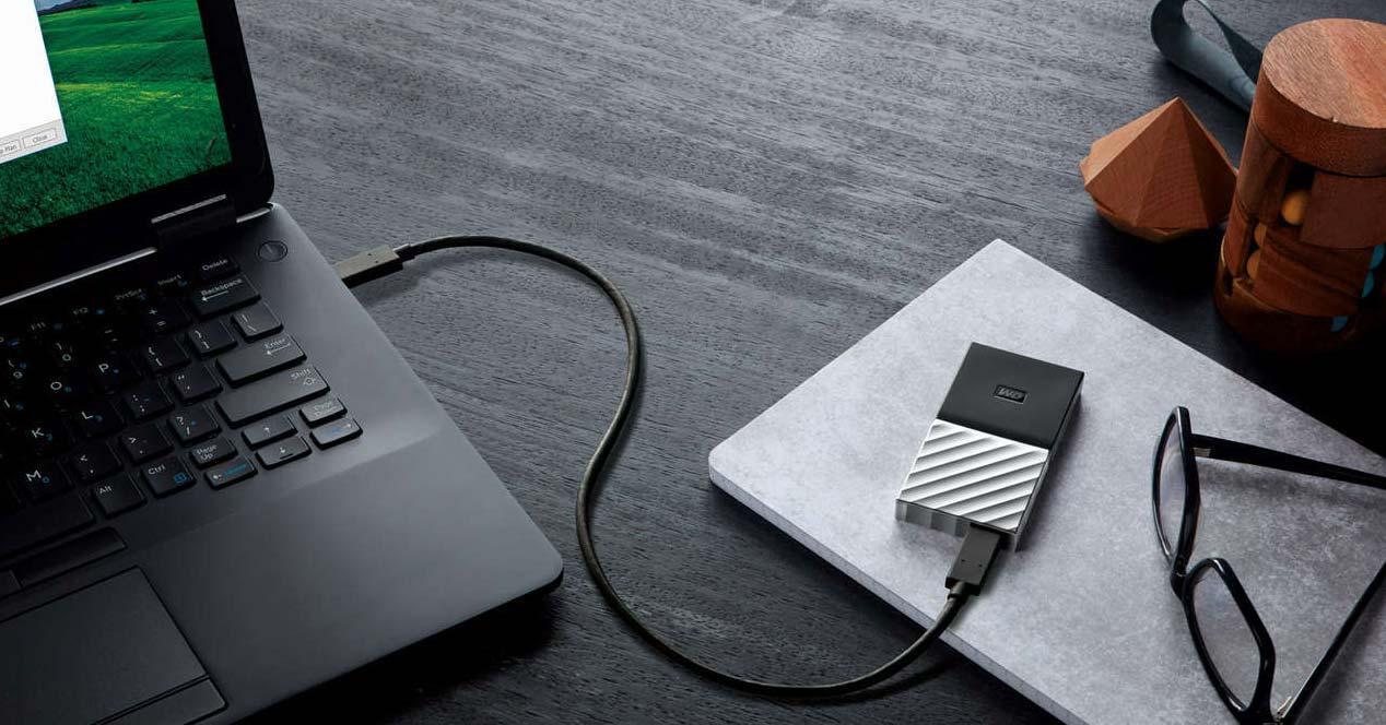 Uso de un disco externo con un ordenador