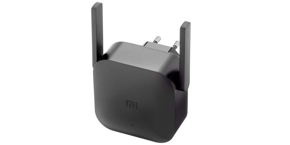 Repetidor WiFi Xiaomi WiFi Extender Pro color negro