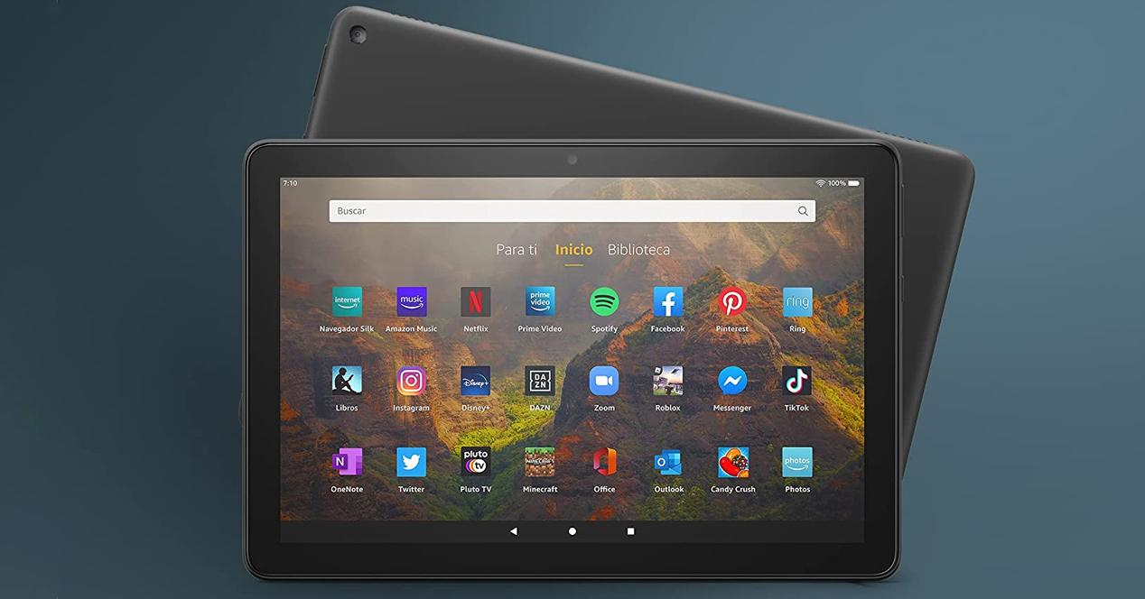 Tablet amazon Fire HD 10