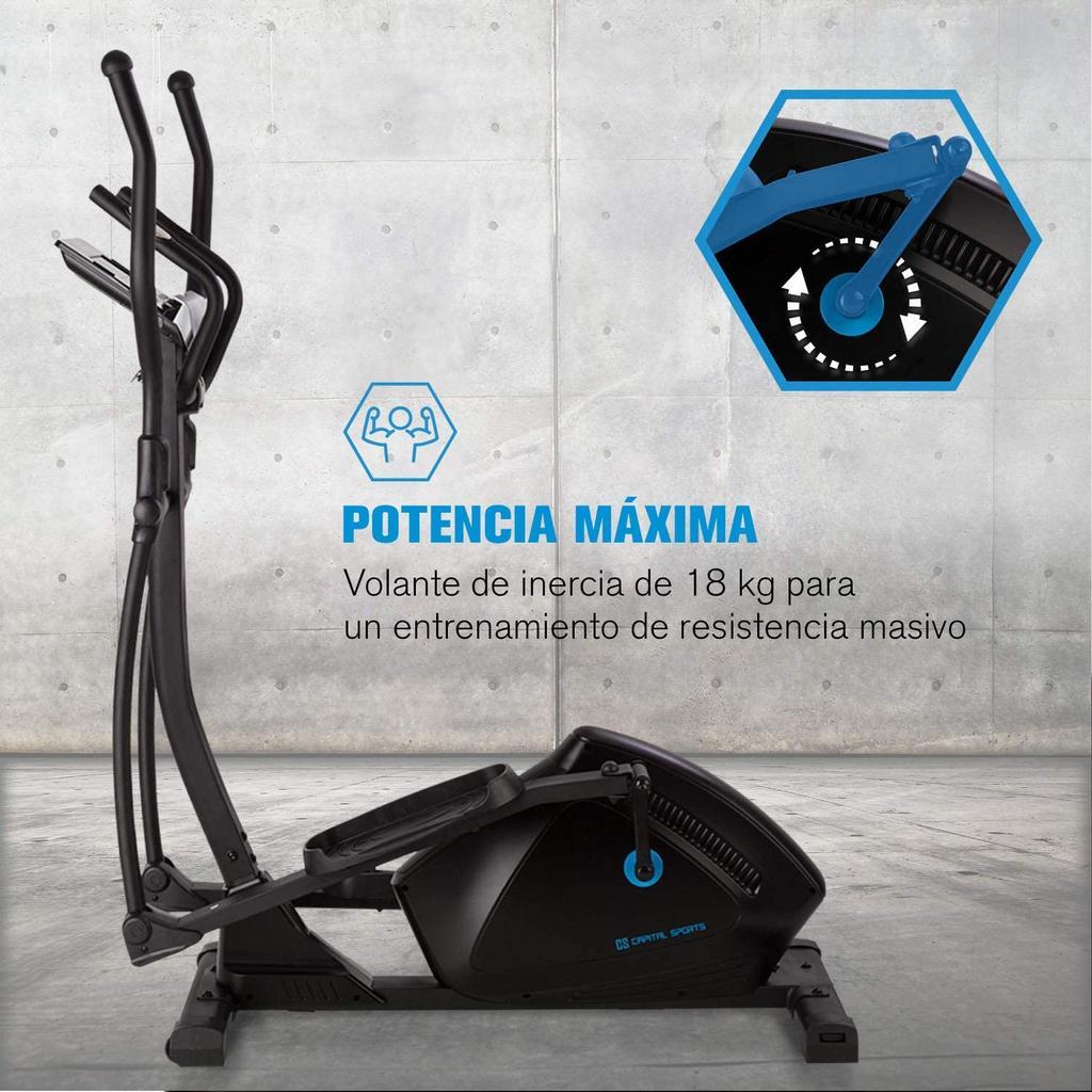 bicicleta elíptica CapitalSports Helix Premium