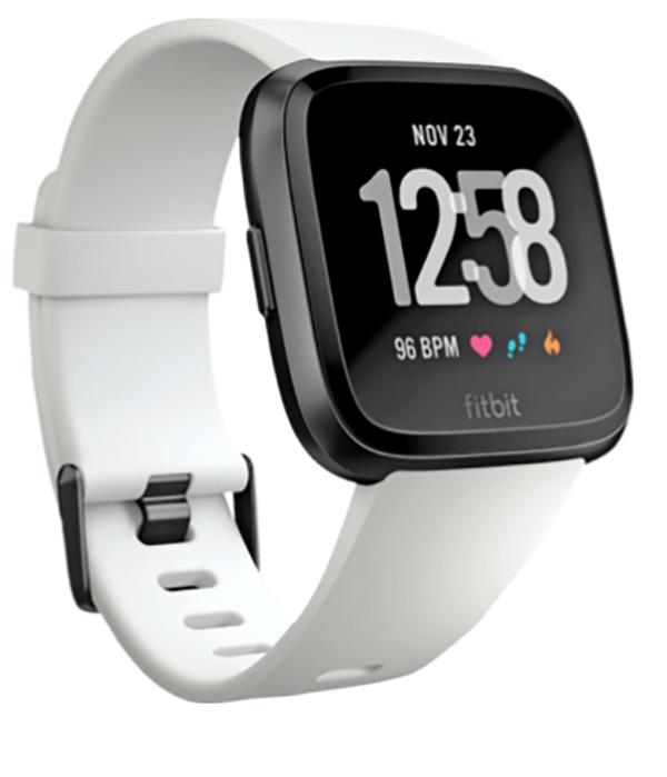 smartwatch fitbit versa lateral