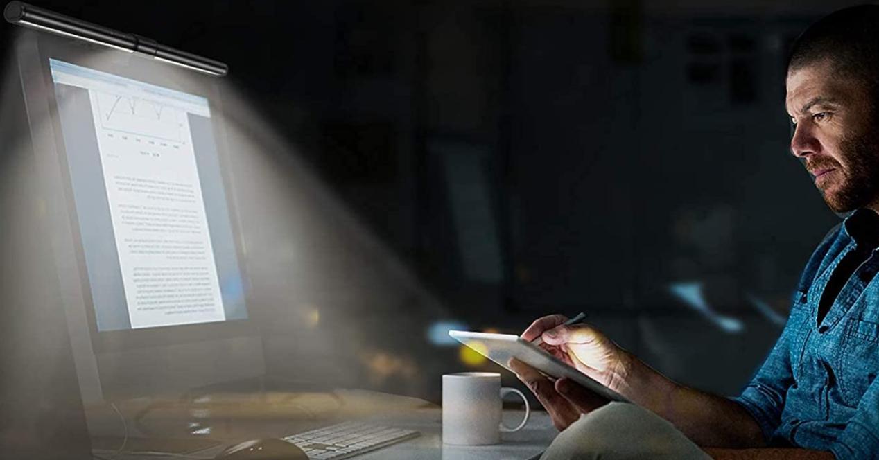 Lámparas LED de escritorio para monitor