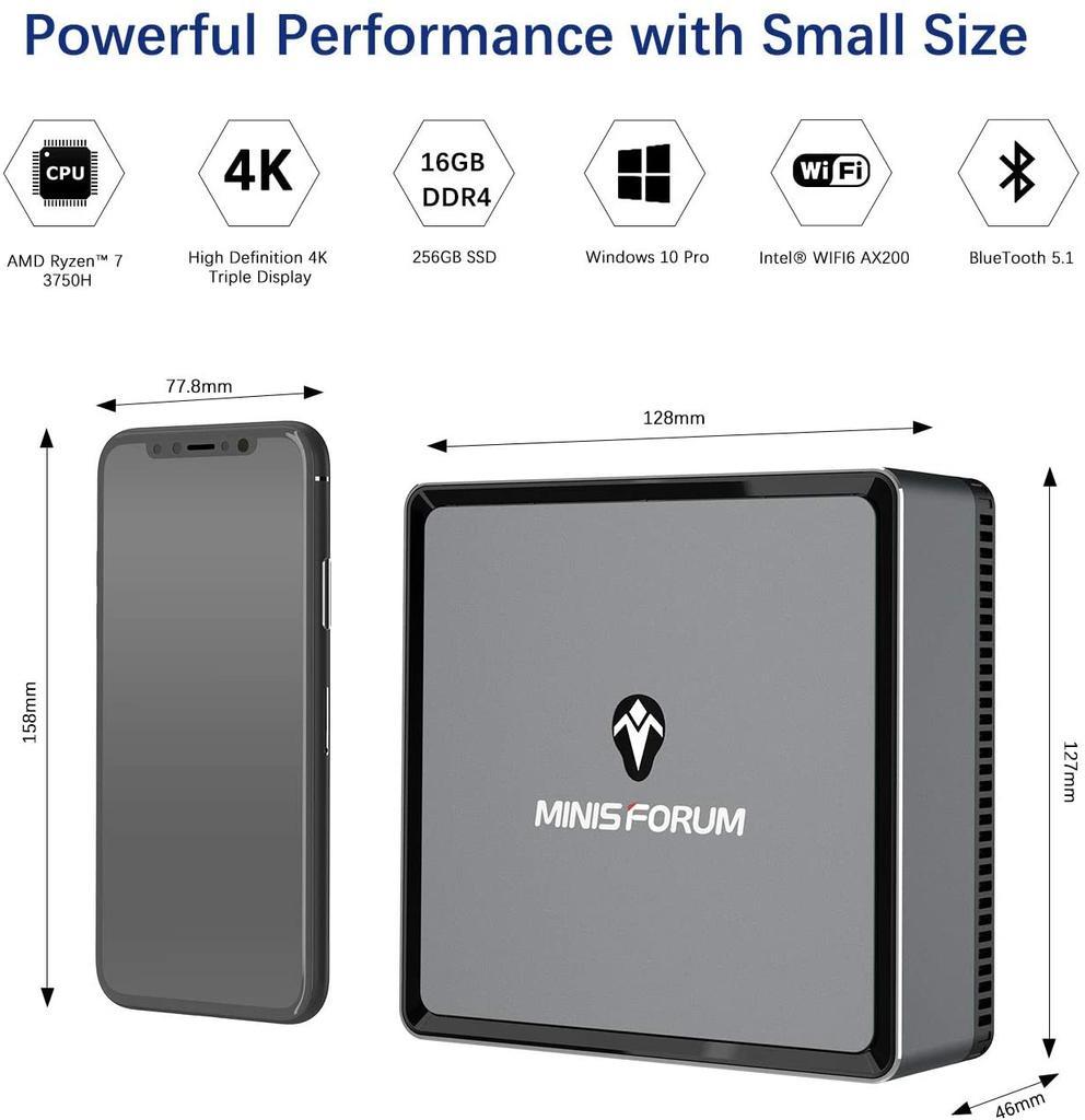 Mini ordenador MINIS FORUM