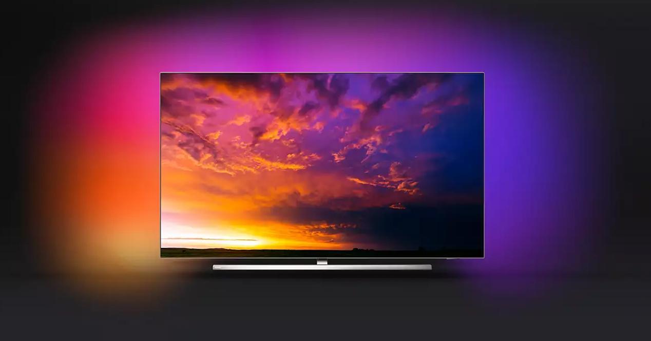 Smart TV philips 65oled854-12 en oferta