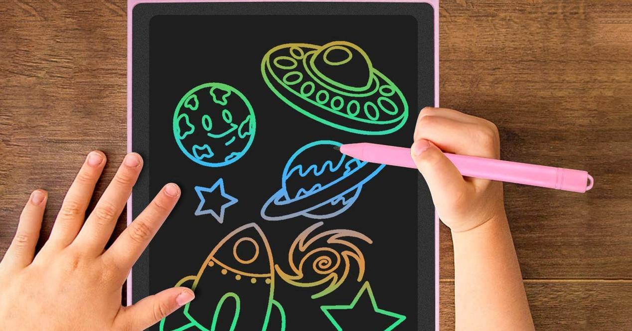 Pizarra digital para niños