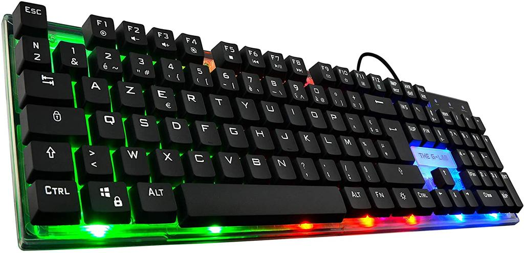 Pack de ratón y teclado The G-Lab