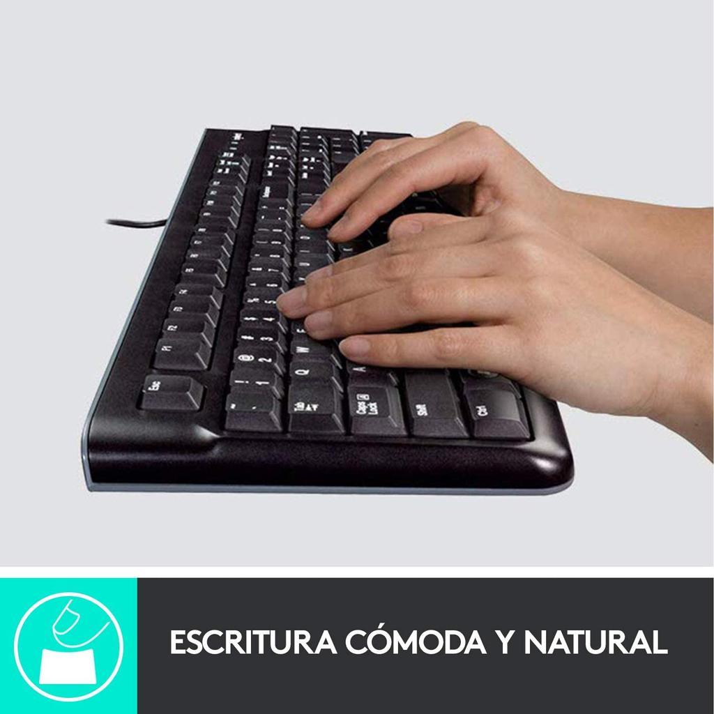Pack de ratón y teclado Logitech MK120
