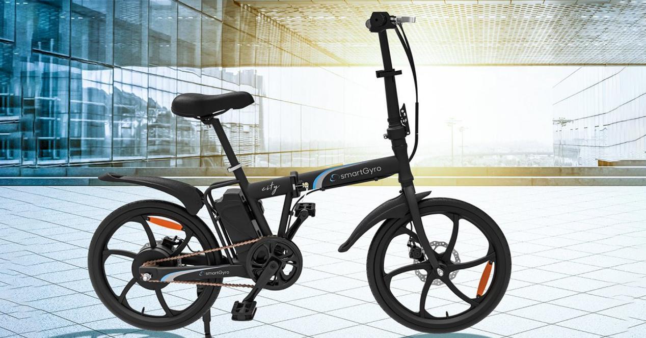 Bicicleta eléctrica smartgyro crosscity