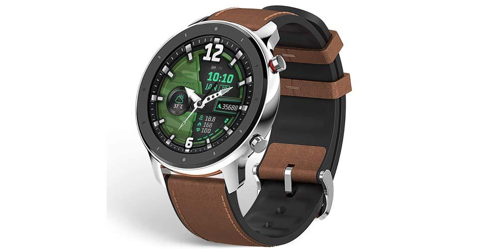 Smartwatch Amazfit GTR acabado en acero