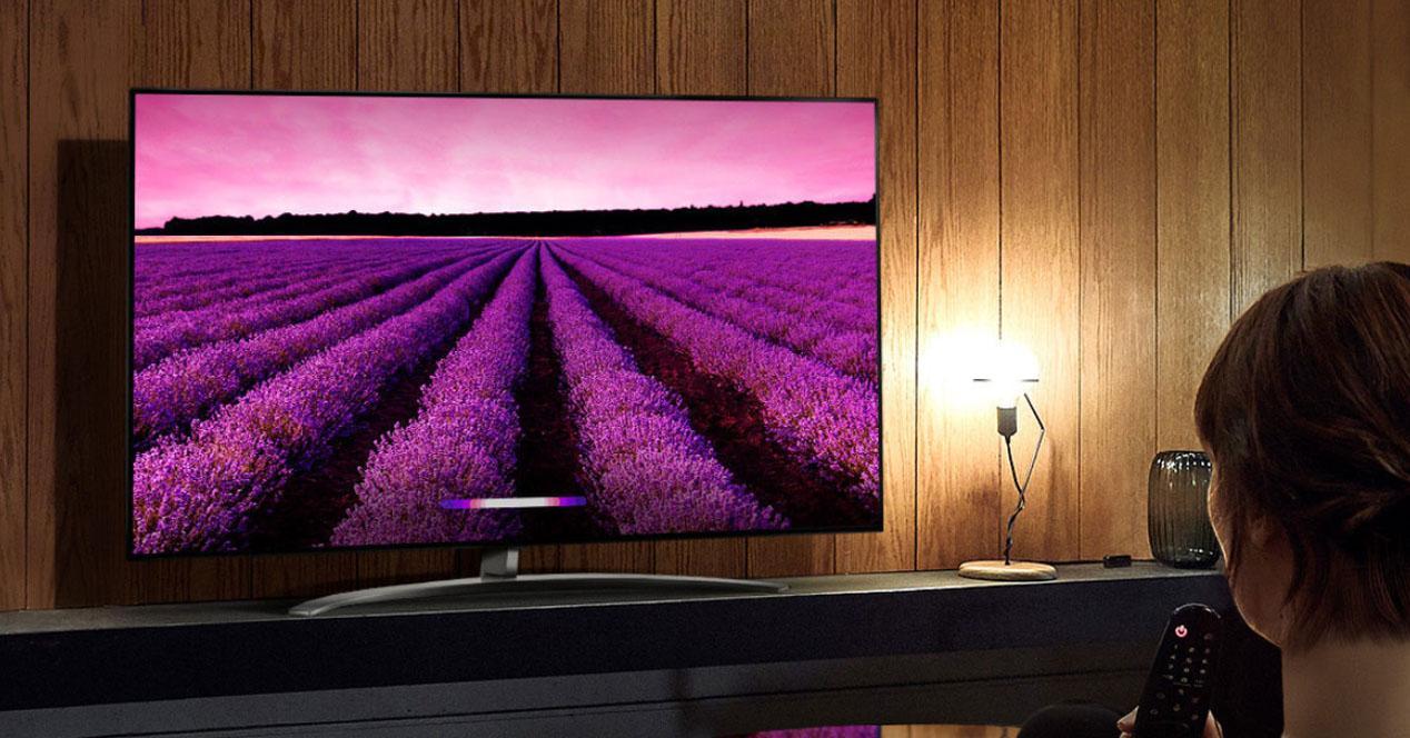 Smart tv LG 49SM8050PLC en oferta
