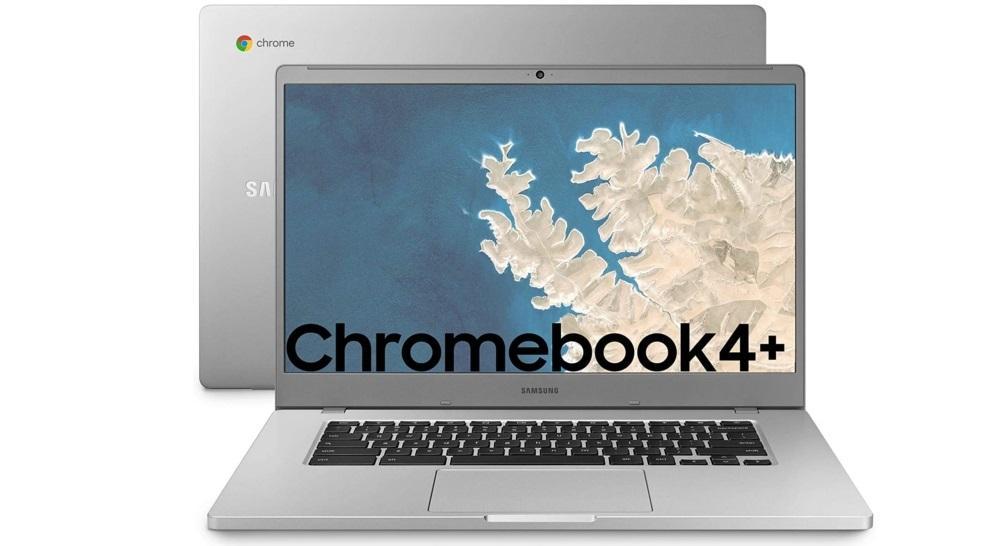 Samsung Chromebook 4+ de frente