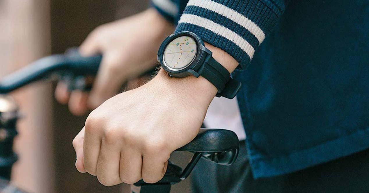 Uso de un smartwatch TicWatch