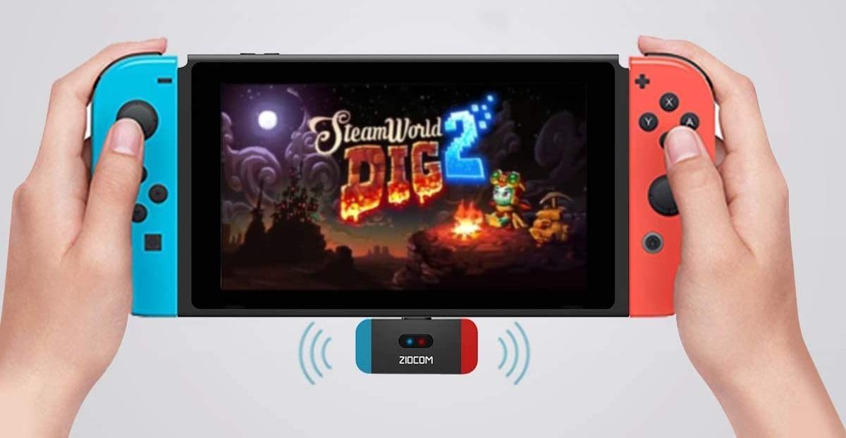ZIOCOM Nintendo Switch Adaptador
