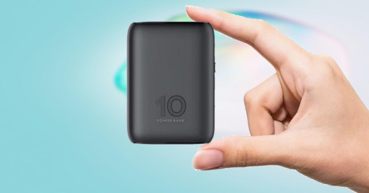 batería externa pequeña