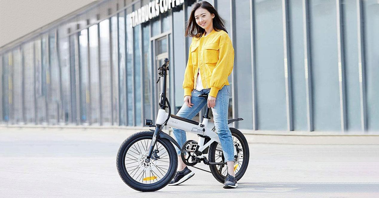 bicleta electrica HIMO C20