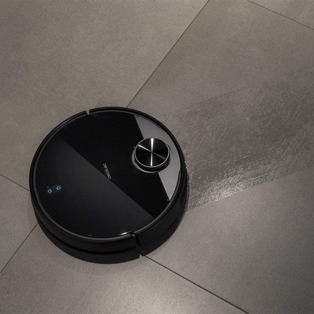 Robot aspirador conga 3790 fregando