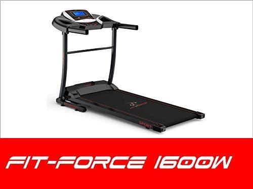 Cinta de correr con altavoces FitForce 1600w