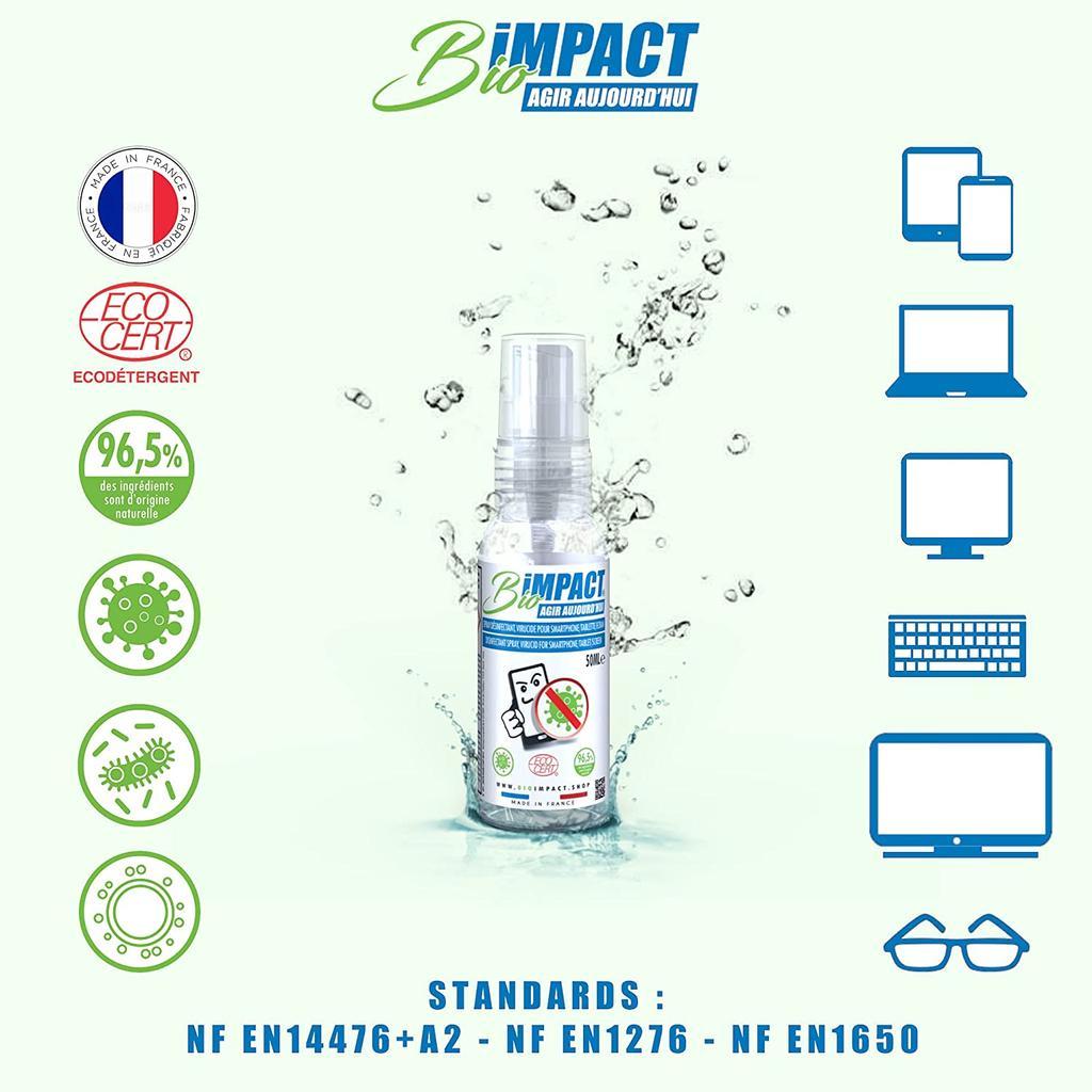 Limpia pantallas de BIOIMPACT