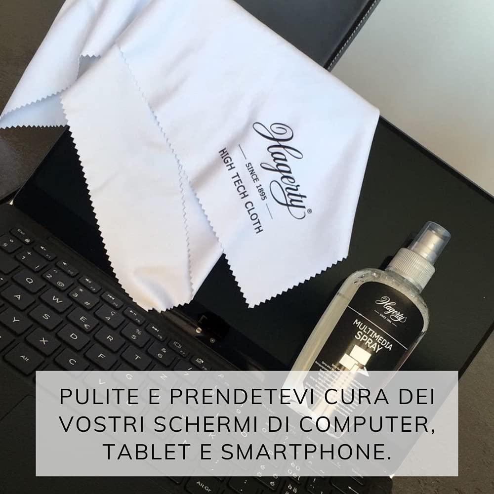 Limpiador de pantallas con efecto antiestático