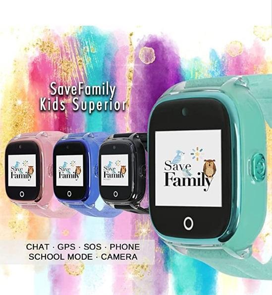 Smartwatch para niños de SaveFamily