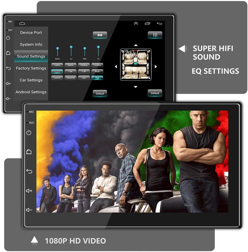 Reproductor multimedia para el coche de ANKEWAY