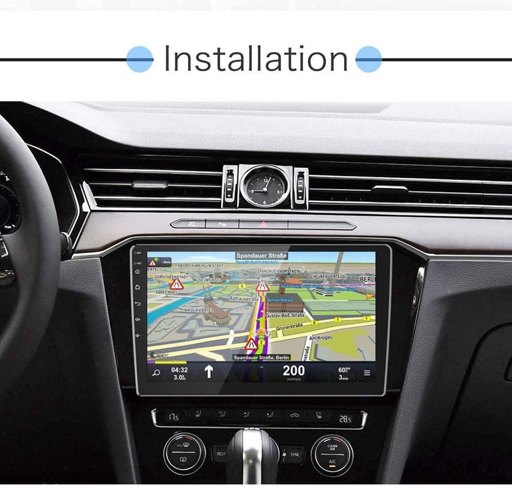Reproductor multimedia para el coche de podofo