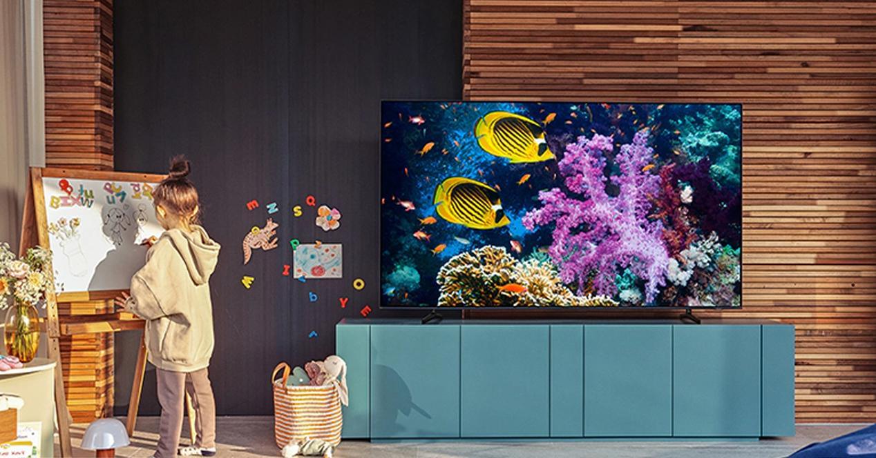 Smart TV samsung 70TU7105 en oferta
