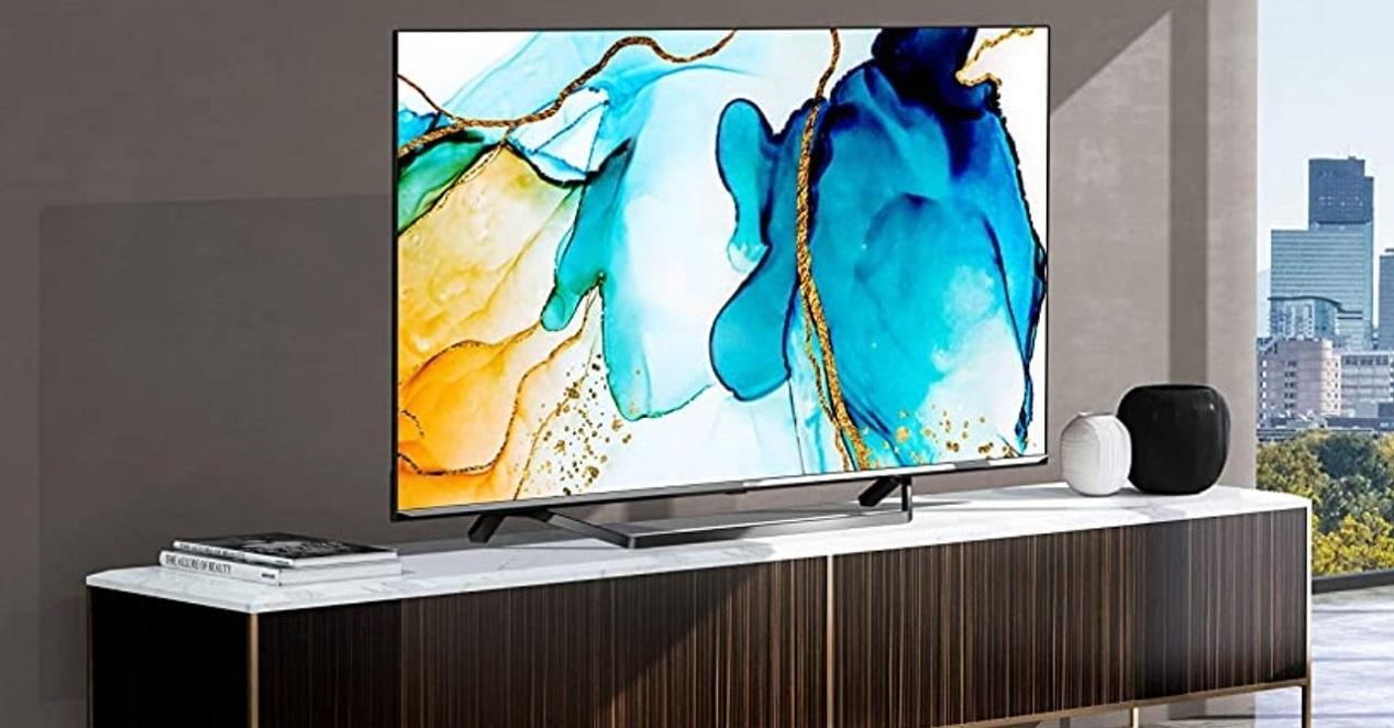Smart TV Hisense ULED 2020 55U71QF