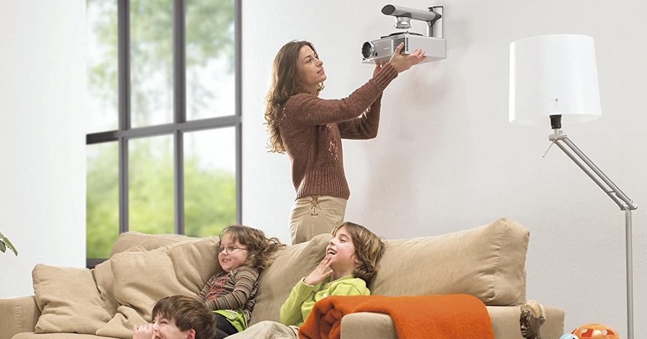 soportes proyectores
