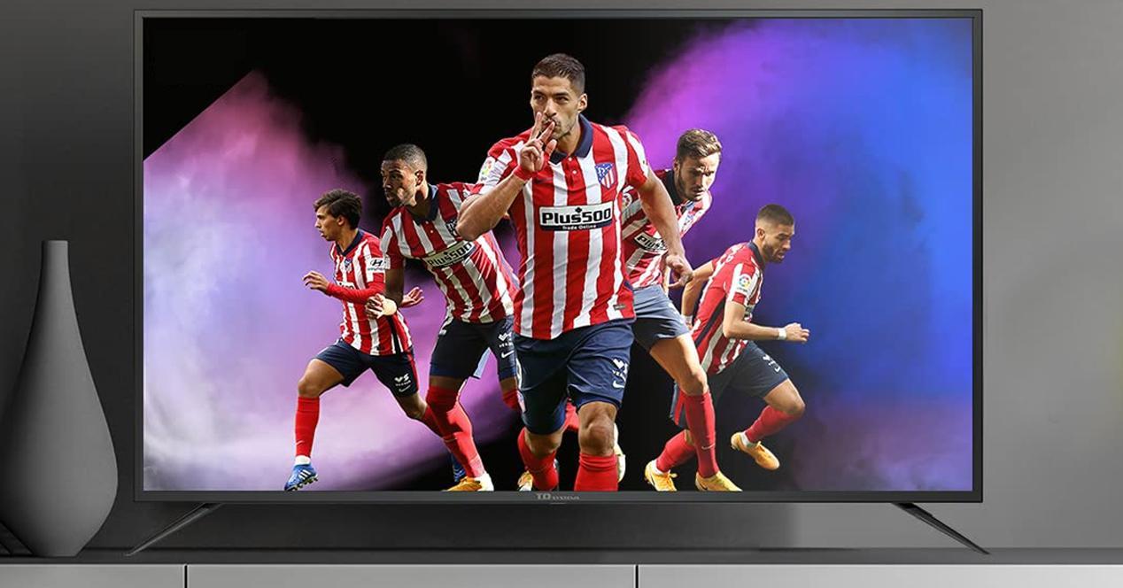 Smart TV td system K58DLJ12US oferta