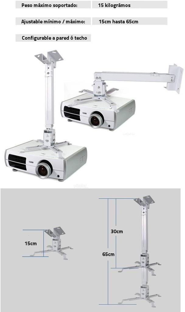Soporte para proyector Unicview de techo