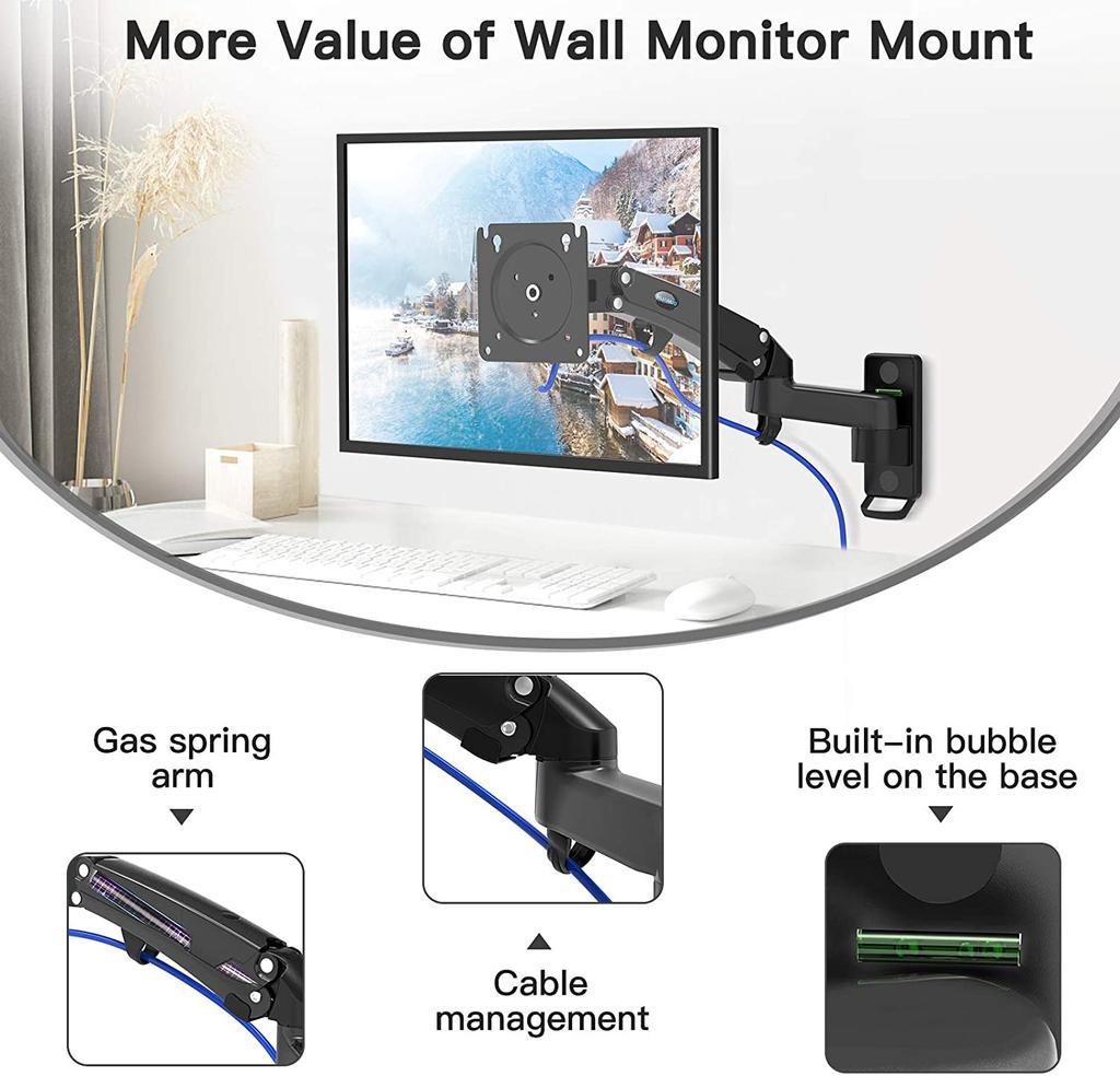 Soporte para monitor HUANUO HNWSS4