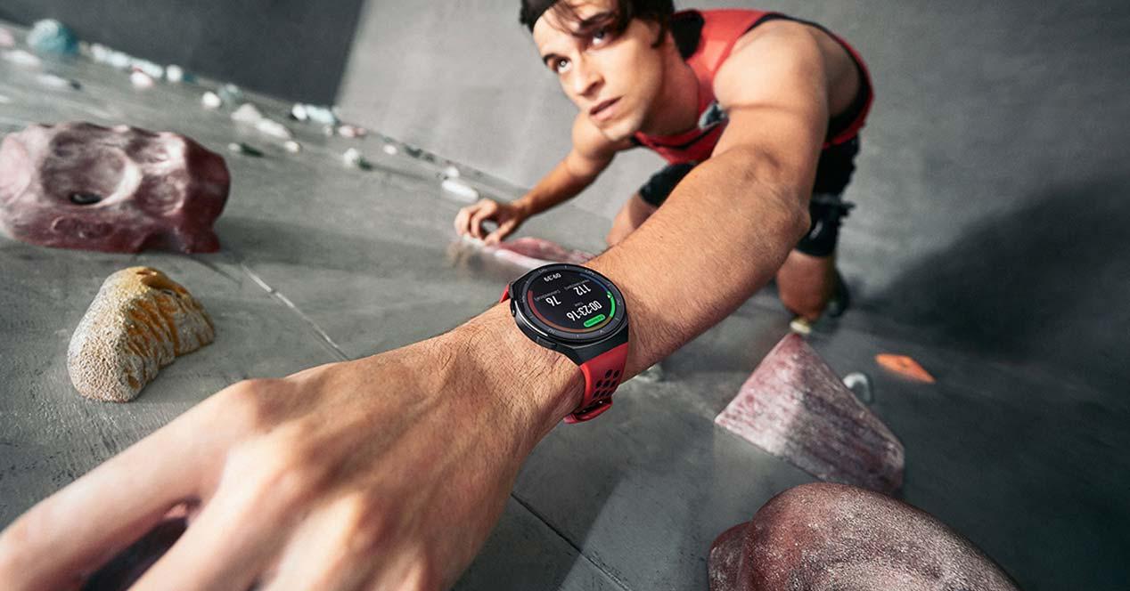 Escalada con el Huawei Watch GT 2e