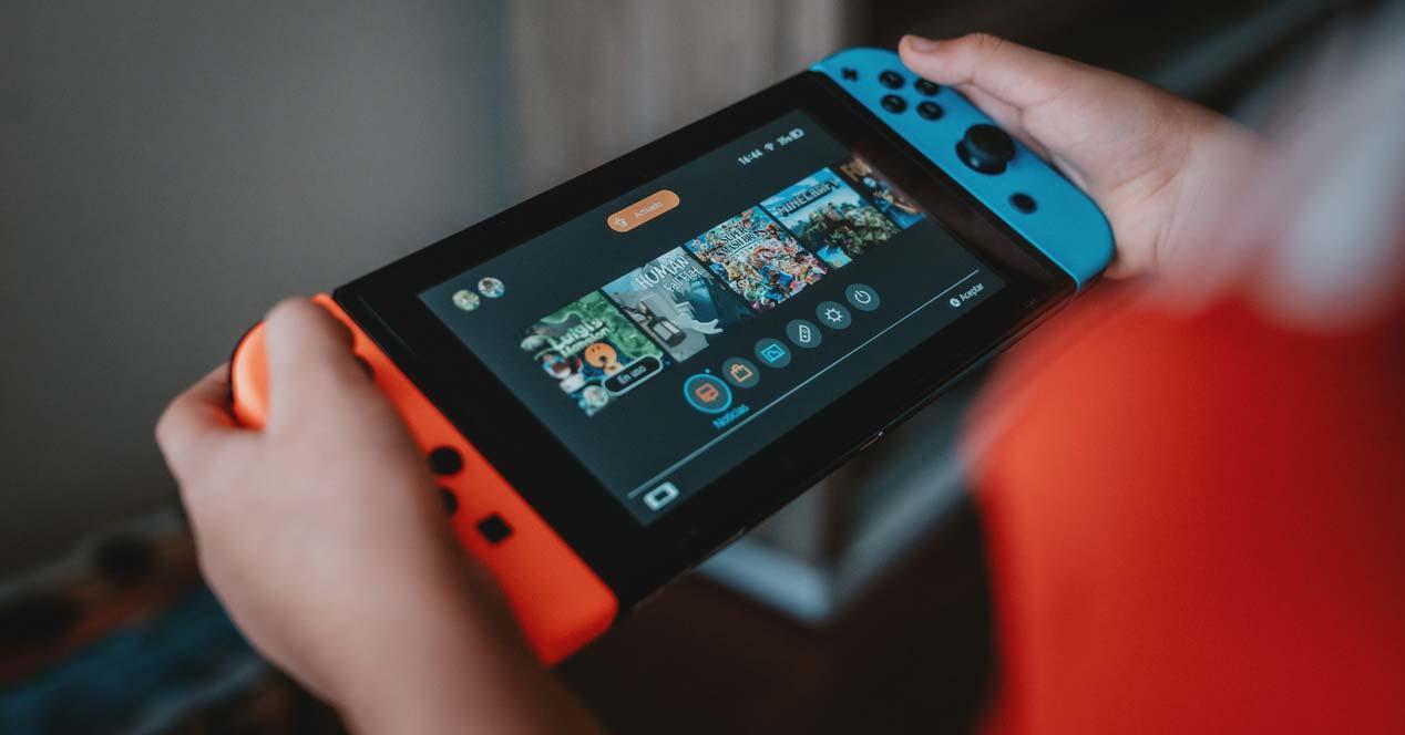 Uso e la consola Nintendo Switch