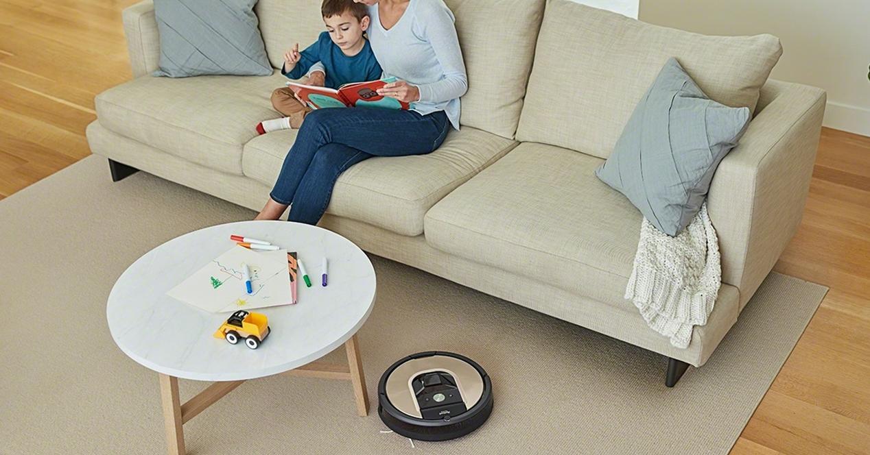 Robot aspirador Roomba 966