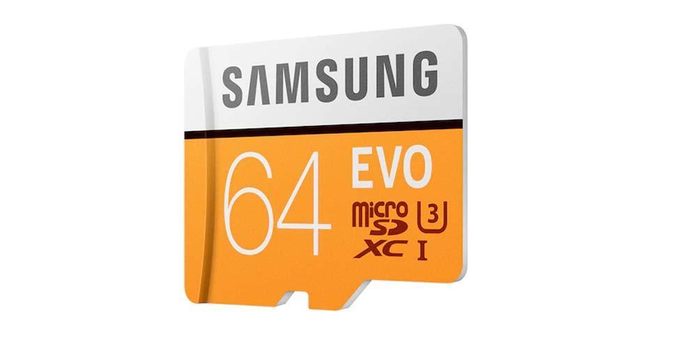Lateral de la Samsung EVO