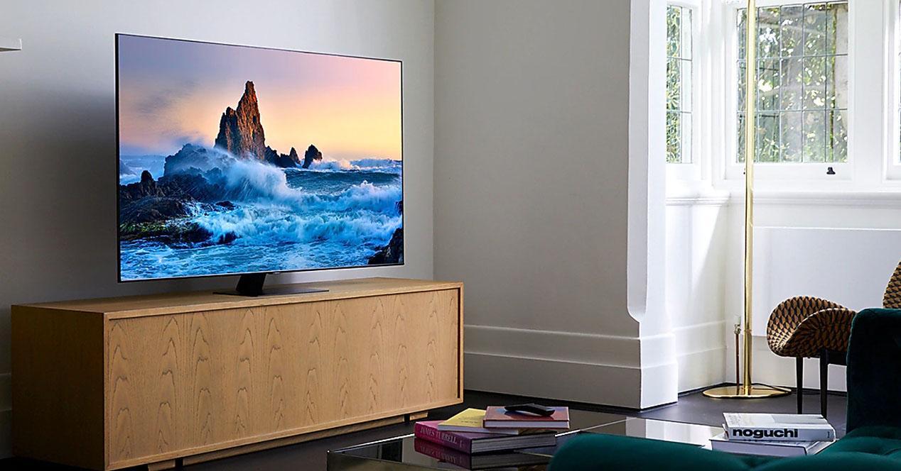 Smart tv Samsung 49Q80T en oferta