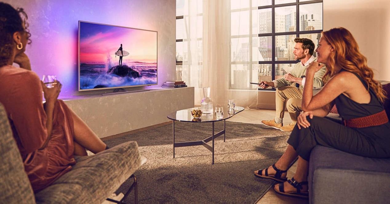 Smart TV Philips de 43″ con Android TV