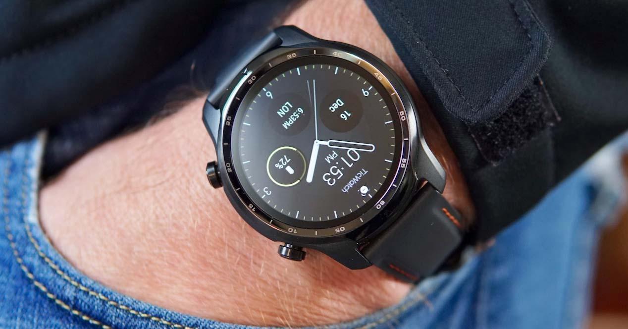 Uso del reloj TicWatch Pro 3