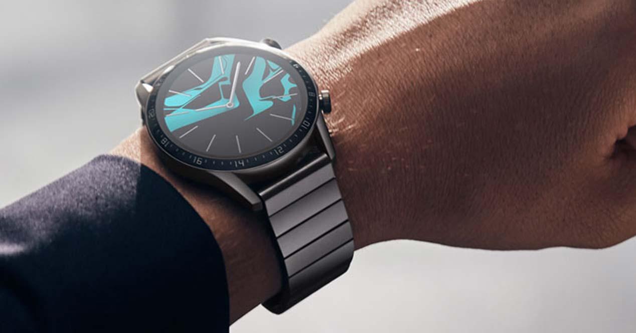 Uso del Huawei Watch GT2 Elegant