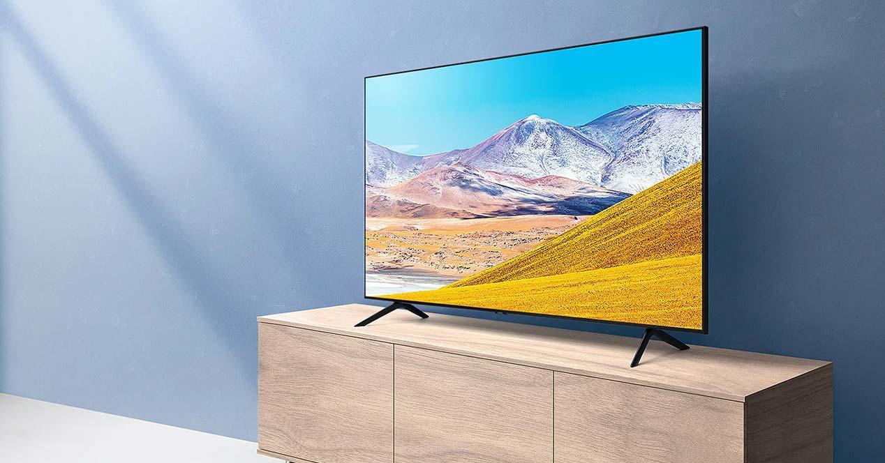 Uso de una Smart TV Samsung en oferta