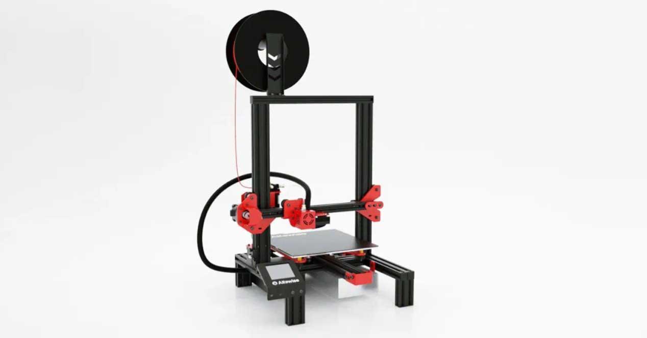 Impresora 3D en oferta alfawise u20