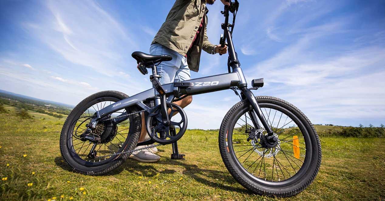 bicicleta electrica himo z20
