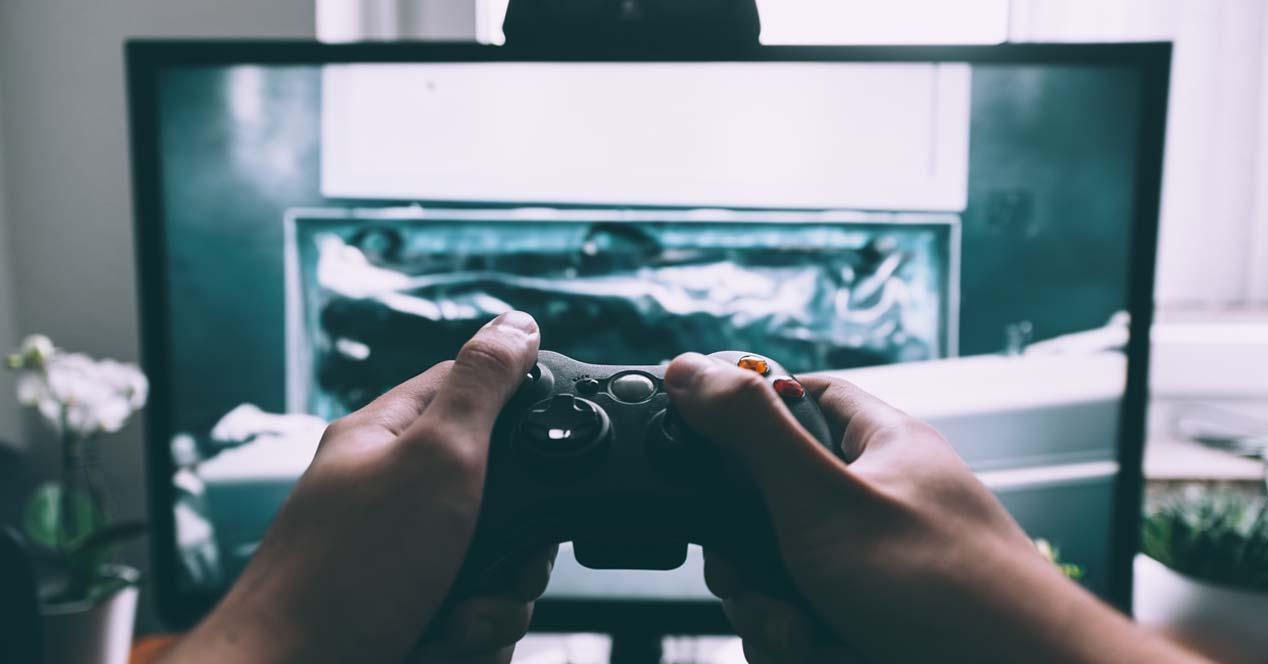 Uso monitor para jugar