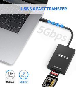 Lector de tarjetas USB Tipo C Rocketek