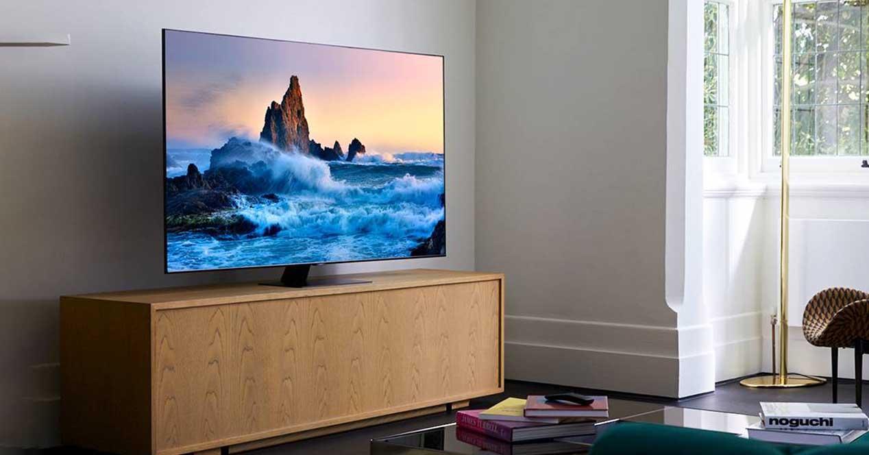 smart tv samsung 55q80t en oferta