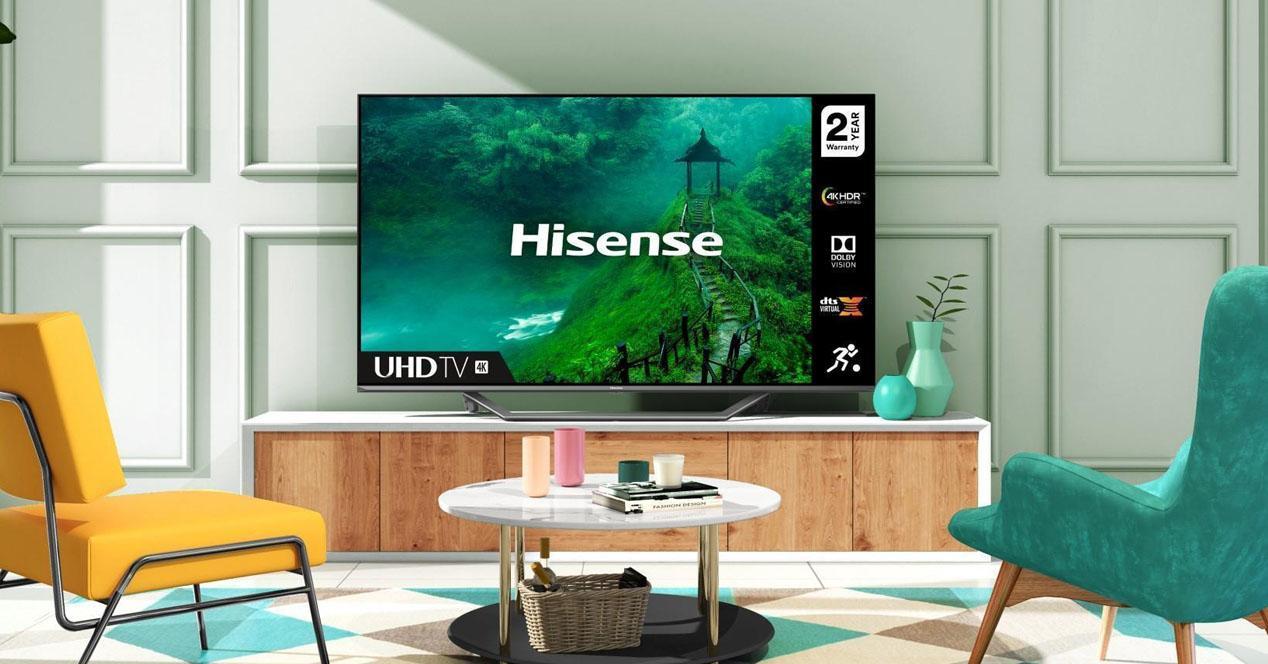 smart tv hisense 55AE7400F